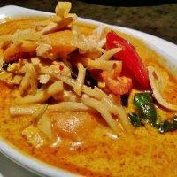 1144. Spaghetti Phad Gaeng Daeng Koong