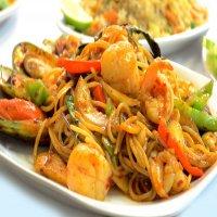 1199. Phad Spaghetti Gratiem