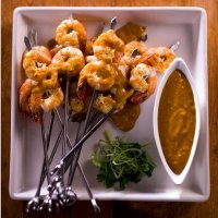 1411. Tiger Prawn Satay - - NEW!