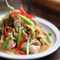 1078. Phad Khing Gai-Moo