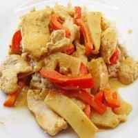 1117. Panaeng Gai-Neau-Moo-Chef Lampoon Style