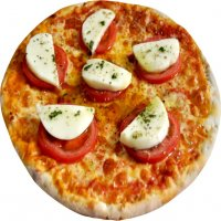 1. Cheese & Tomato Pizza