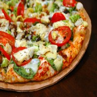 12. Vegetarian Pizza