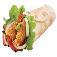 47. Chicken Kebab Wrap