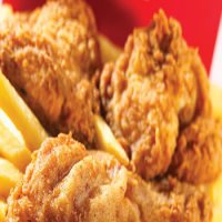 74. Fried Chicken & Chips