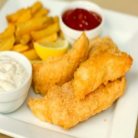 Kids Fish Goujons with Chips