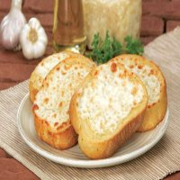 43. Garlic Bread with Cheese & Ham