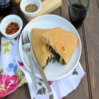 48. Vegetarian Hot Calzone