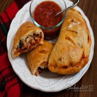 53. Meat Feast Calzone