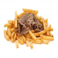 57. Doner Meat & Chips