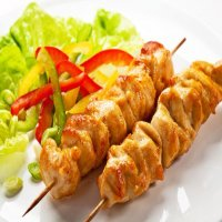 73. Chicken & Shish Kebab
