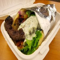 70. Shish Kofte Wrap