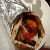 71. Chicken Kebab Wrap