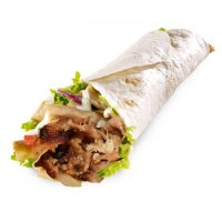 72. Mixed Kebab Wrap