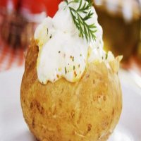 112. Jacket Potato with Butter