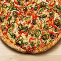 Hot Vegetarian Pizza