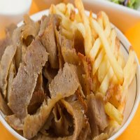 Doner Meat with Chips