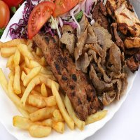 Shish & Doner Kebab  with Chips