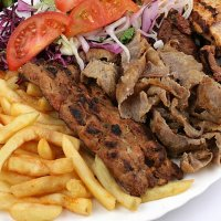 Chicken & Shish Kebab