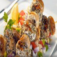 Chicken & Mushroom Kebab