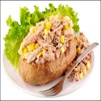 Jacket Potato with Prawn Cocktail