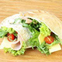 86. Salad In Pitta