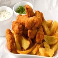 90. 10 Pcs scampi & chips