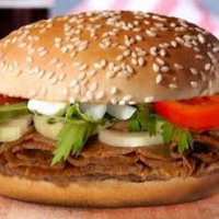 Doner Meat in Bun