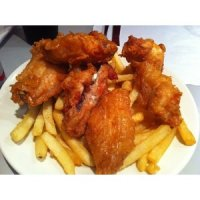 6 Hot Chick Wings & Chips