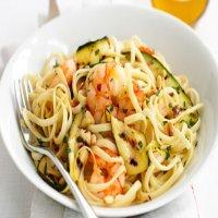 Tagliatelle Prawn & Zucchini
