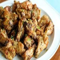 17. Salt & Pepper chicken wings