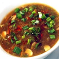 23. Vegetarian Hot & Sour Soup ( T )