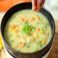26. Sweet Corn Soup  ( T )