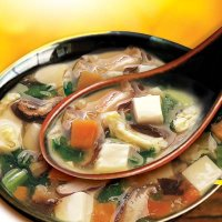 31. Bean Curd & Vegetable Soup  ( C )