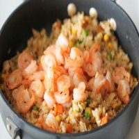 35. Shrimps Fried Rice