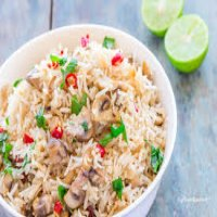41. Mushrooms Fried Rice
