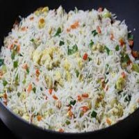 42. Mixed Vegetable Fried Rice