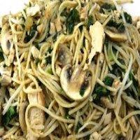 56. Mushroom Chow Mein