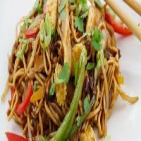 57. Mixed Vegetable Chow Mein