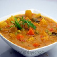 66. Mixed Vegetables Curry