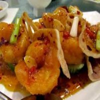 75. King Prawn in Honey & Spicy Sauce