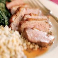 76. Roast Duck in Honey & Spicy Sauce