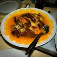 83. Roasted Duck in Lemon Sauce