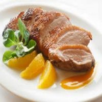 84. Roasted Duck in Orange Sauce