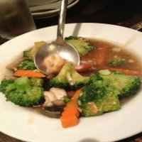95. King Prawn with Broccoli