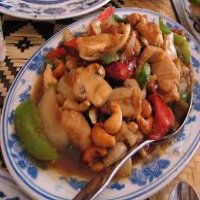 98. King Prawn with Cashew Nuts
