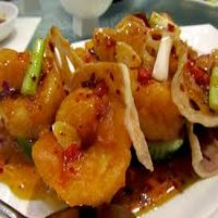106. King Prawn in Satay Sauce