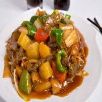 120. Beef in Satay Sauce