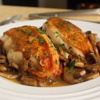 130. Chicken with Mushrooms