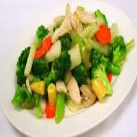 132. Chicken with mixed Vegetables